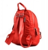 Bright Klasický dámský batoh s kapsami větší A5 vybavený Backpack bordó