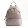 Bright Elegantní dámský batoh klasický větší A5 vybavený Backpack béžový