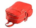 Bright Dámský batoh se 2 zipy a bočními kapsami větší A5 Backpack tyrkysový