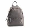 Bright Elegantní dámský batoh klasický větší A5 vybavený Backpack šedý