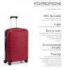 Roncato Kufr Roncato light střední 68/27 Spinner M Hard Red
