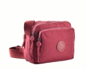 BRIGHT Crossbody kapsa Bright so light Bordo
