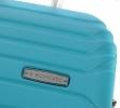 Roncato Fashion kufr Fusion malý 55/20 Spinner S Hard 4 kolečka Cabin Světle modrý