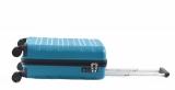 Bright Kufr Colours 55/21 Spinner S Hard TSA Cabin 4 kolečka Blue
