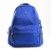 Bright Klasický dámský batoh s kapsami větší A5 vybavený Backpack oceánově modrý