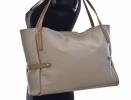 Bright Fashion dámská kabelka měkká kožená velká A4 růžová