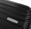 Roncato Fashion kufr Fusion střední 65/26 Spinner M Hard 4 kolečka Middle Černý
