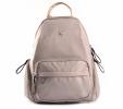 Bright Klasický dámský batoh s kapsami větší A5 vybavený Backpack béžový