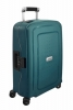 SAMSONITE Kufr S´Cure DLX Spinner 55/20 Cabin Metallic Green