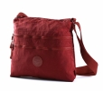 BRIGHT Crossbody kapsa A4 Bright so light Bordo