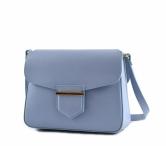Bright Dámská kabelka kožená sv. modrá