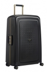 SAMSONITE Kufr S´Cure DLX Spinner 75/31 Black/Gold Deluscious