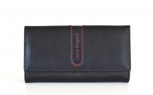 LAURA BIAGIOTTI Peněženka dámská klasická na šířku černá