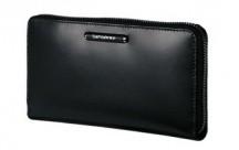 SAMSONITE Peněženka dámská LADY CHIC II SLG kožená černá