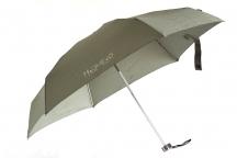 """H.DUE.O Deštník dámský """"Hi-Tech"""" skládací do kapsy s pouzdrem khaki"""