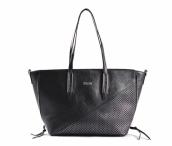 Bright Dámská kabelka velká A4 se šupinkami černá