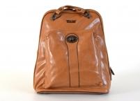 Bright Batoh (kabelka) dámský A5 s čelní kapsou hnědý