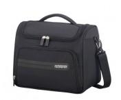 AMERICAN TOURISTER Kosmetická taška Summer Voyager soft Black