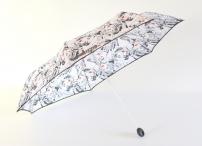 """H.DUE.O Deštník dámský """"Comics"""" skládací komiks lehký černo-bílý"""