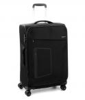 Roncato Kufr Action 63/27 TSA Spinner M Soft rozšiřovatelný Black