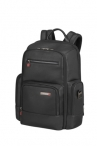 "SAMSONITE Batoh na notebook 15,6"" Safton Leather Black"