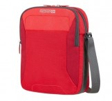 American tourister Kapsa Road quest cross-over látková red print