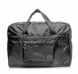 RONCATO Skládací cestovní taška Foldaway duffle černá