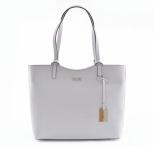 Bright Elegantní kabelka dámská kožená střední klasická bílá