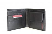 SAMSONITE Pánská peněženka PRO-DLX jednoduchá kožená RFID černá
