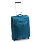 Roncato Kufr S Tribe Upright 55/23 soft rozšiř. Cabin modro-zelený