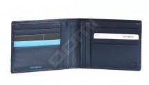 Samsonite pánská peněženka kožená OUTLINE SLG bez drobných modrá