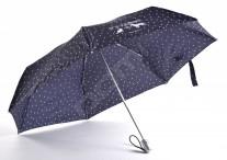 SAMSONITE Deštník Alu pattern skládací O/C vystřelovací kapky modrý
