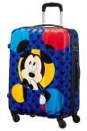 AT Kufr dětský Hypertwist Disney Spinner 65/27 Mickey Rock The Dots