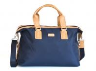 BRIGHT Cestovní taška příruční L na palubu modrá/béžová