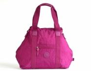 Bright so light Příruční taška S lehká látková Gym bag fialová