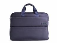 """Bright Fashion taška na notebook 14,1"""" A4 s pruhy modrá"""