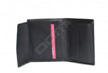SAMSONITE Peněženka pánská SUCCESS na výšku kožená vybavená černá