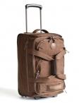 Bright Cestovní taška na kolečkách vybavená 50/26 na palubu S hnědá
