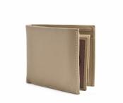 Bright Pánská peněženka kožená vybavená na šířku béžová