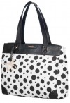 SAMSONITE Dívčí kabelka A4 do ruky 101 Dalmatians