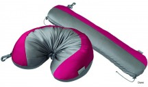 SAMSONITE Cestovní polštářek tvarovatelný CONVERTIBLE šedo-růžový