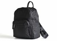 Bright Dámský batoh A5 látkový s 2 hlavními kapsami černý