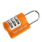SAMSONITE Zámeček kódový US AIR 3 DIAL COMBINATION LOCK oranžový