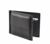 Bright Pánská peněženka/dolarka kožená na šířku černá