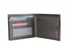 SAMSONITE Pánská peněženka PRO-DLX na doklady kožená RFID černá
