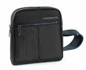 RONCATO Crossbody kapsa Wall Street Black
