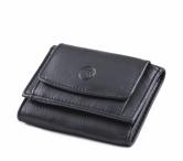 Bright Dámská mini peněženka kožená měkčí tmavě modrá