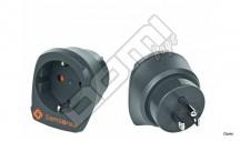 SAMSONITE Adaptér Europe/UK adaptor 2 šedý
