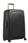 SAMSONITE Kufr S´Cure DLX Spinner 69/25 Black/Gold Deluscious