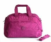 Bright so light Cestovní taška na palubu S lehká látková fialová